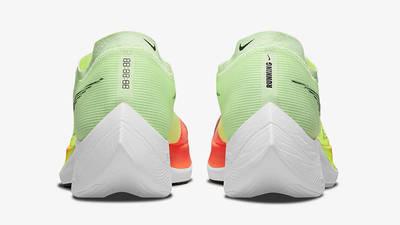 Nike ZoomX Vaporfly Next% 2 Barely Volt CU4111-700 Back