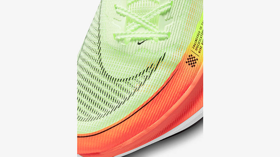 Nike ZoomX Vaporfly Next% 2 Barely Volt CU4111-700 Detail