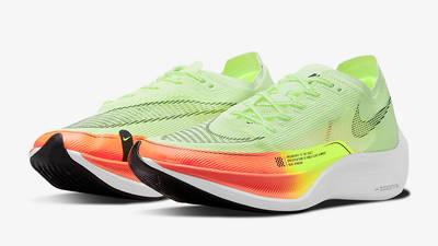 Nike ZoomX Vaporfly Next% 2 Barely Volt CU4111-700 Side