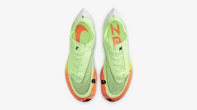 Nike ZoomX Vaporfly Next% 2 Barely Volt CU4111-700 Top