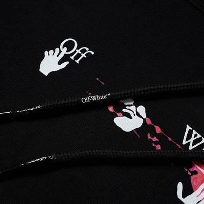Off-White Acrylic Arrow Oversized Hoodie Black Detail