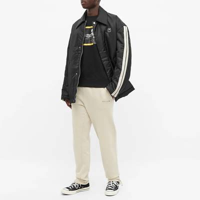 Off-White Carav Painting Slim Crew Sweatshirt Black Full