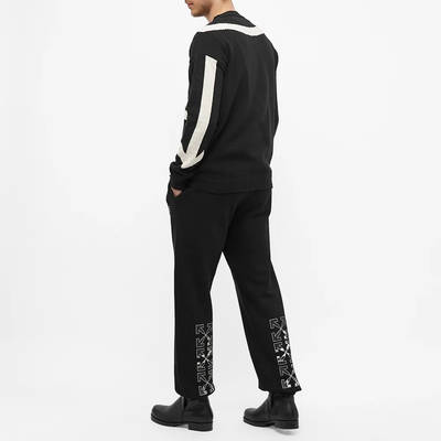 Off-White Caravaggio Arrow Slim Sweat Pant Black Ful