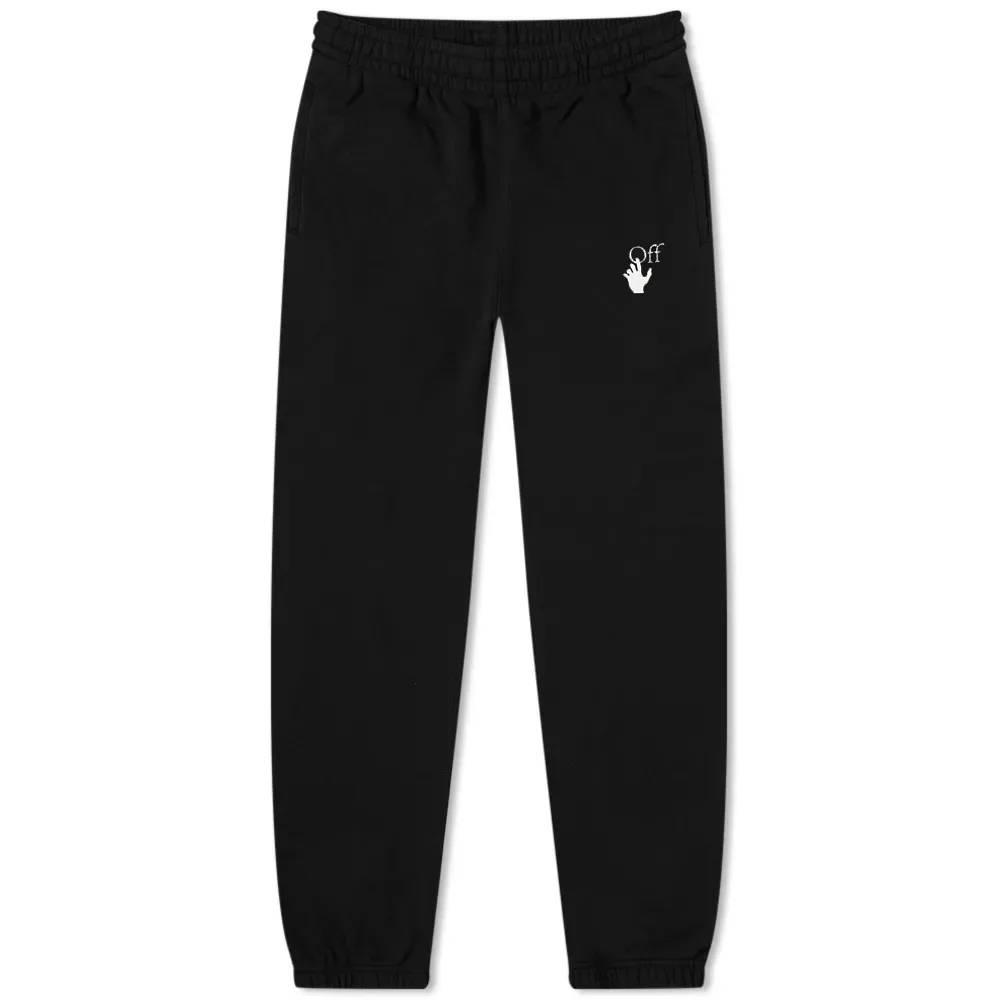 Off-White Caravaggio Arrow Slim Sweat Pant Black