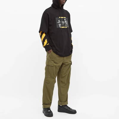 Off-White Caravaggio Painting Double Sleeve Hoodie Black Full