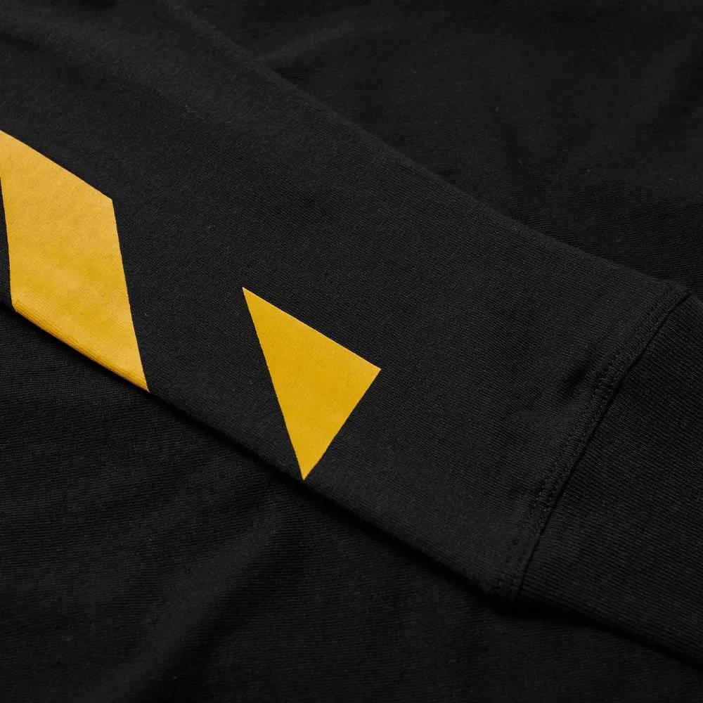 Off-White Long Sleeve Caravaggio Painting T-Shirt Black Detail 2
