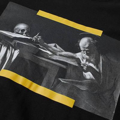 Off-White Long Sleeve Caravaggio Painting T-Shirt Black Detail 3