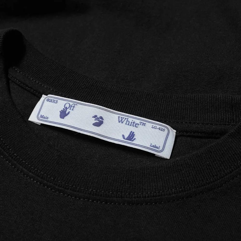 Off-White Long Sleeve Caravaggio Painting T-Shirt Black Detail