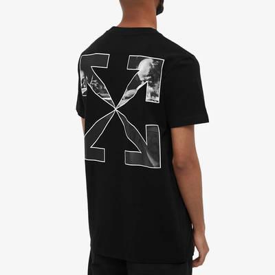 Off-White Slim Caravaggio Arrow T-Shirt Black Back