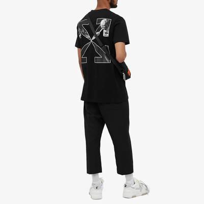 Off-White Slim Caravaggio Arrow T-Shirt Black Full