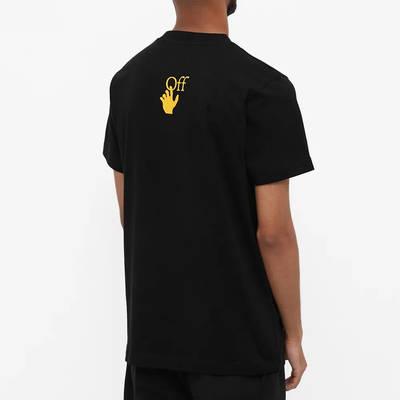 Off-White Slim Caravaggio Painting T-Shirt Black Back