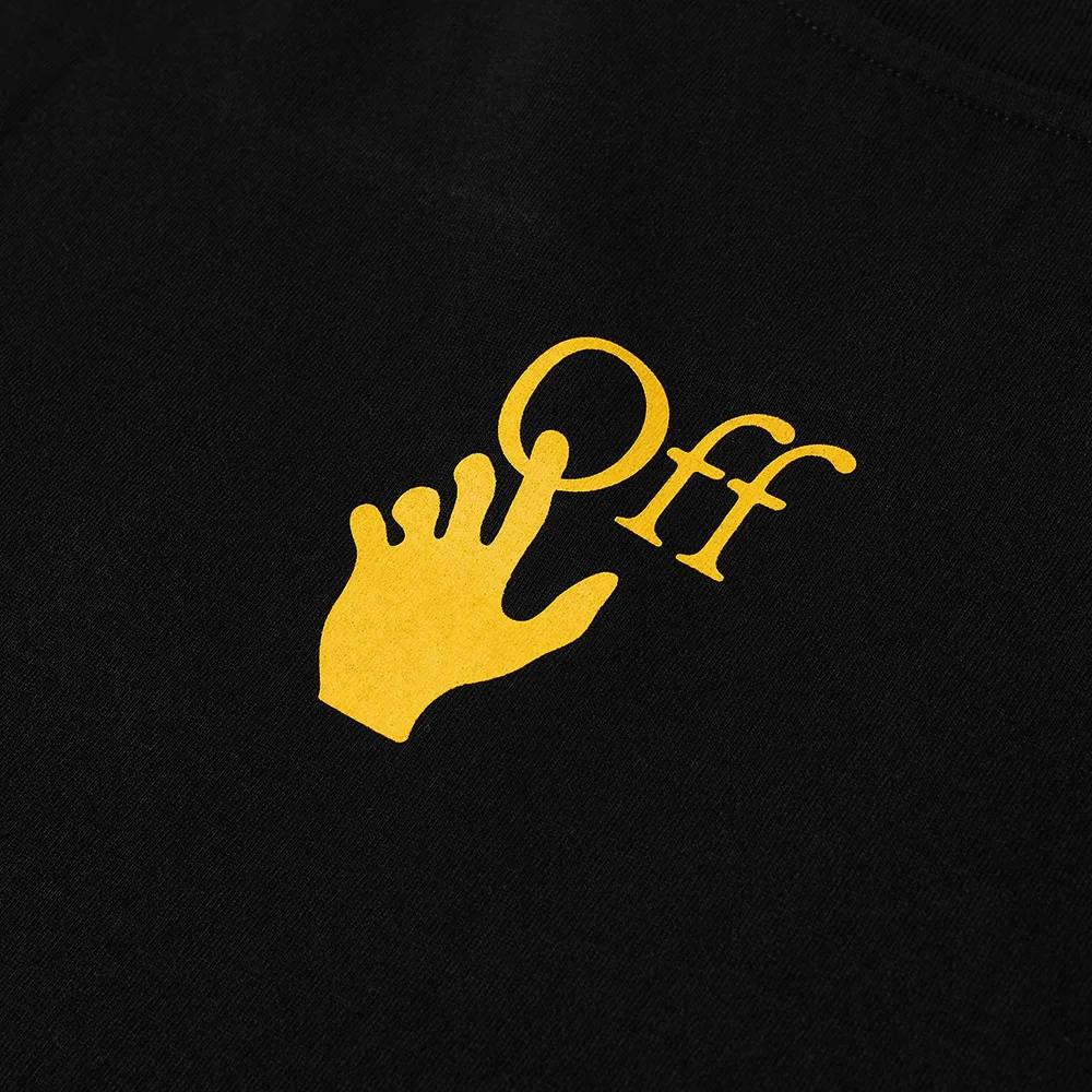 Off-White Slim Caravaggio Painting T-Shirt Black Detail 2