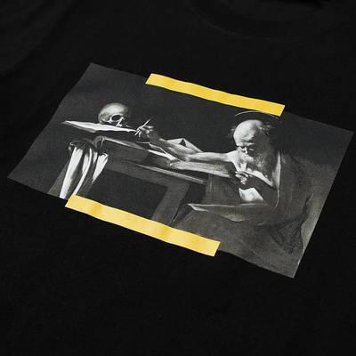 Off-White Slim Caravaggio Painting T-Shirt Black Detail
