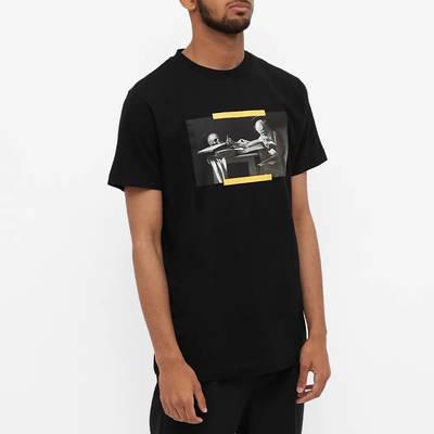 Off-White Slim Caravaggio Painting T-Shirt Black Front