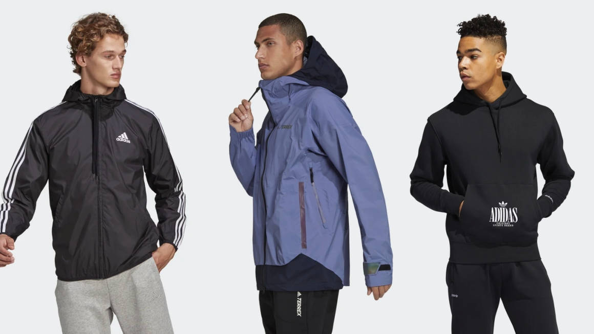 Be Ready for Whatever the Great Outdoors Has to Throw at You With These adidas Outerwear Pieces