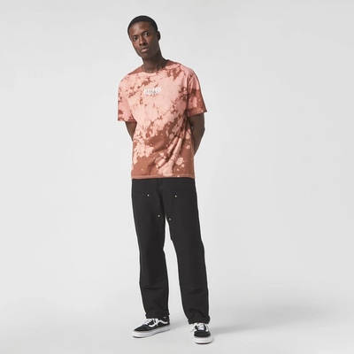 Pleasures Trip Dyed T-Shirt Brown Full
