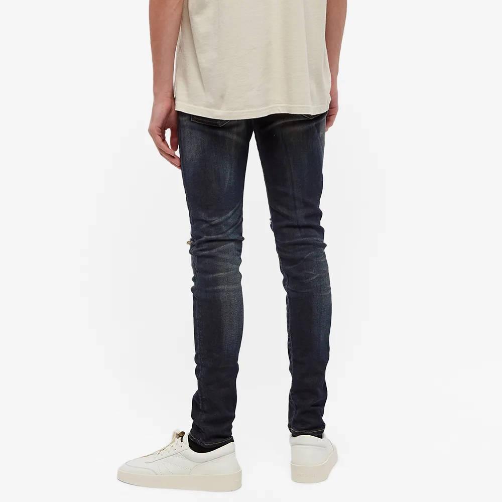 Represent Destroyer Denim Jeans Classic Blue Back