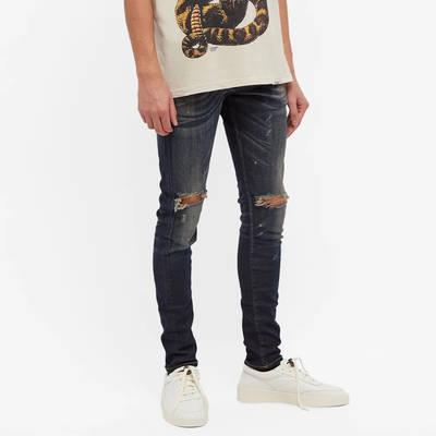 Represent Destroyer Denim Jeans Classic Blue Front
