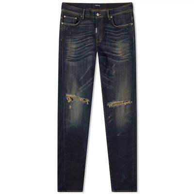 Represent Destroyer Denim Jeans Classic Blue