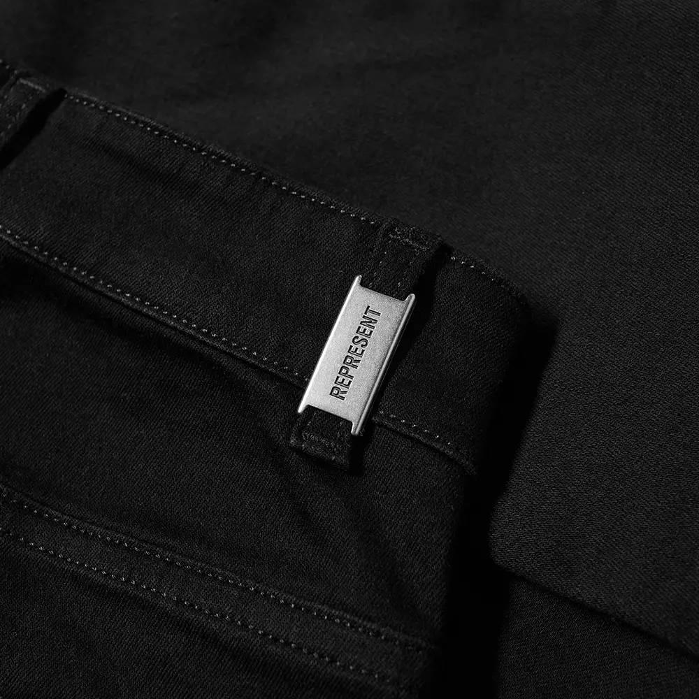 Represent Destroyer Jeans Black Detail 2