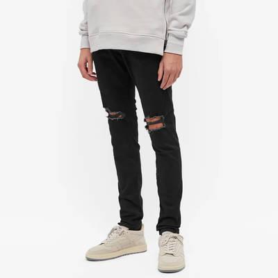 Represent Destroyer Jeans Black Front
