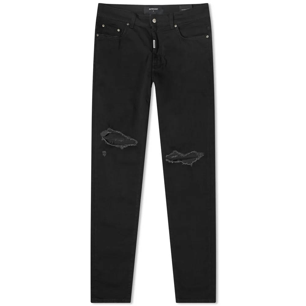 Represent Destroyer Jeans Black