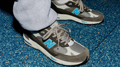 Run the Boroughs x New Balance 991 On Foot