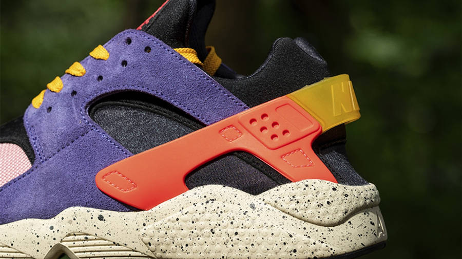 size x Nike Air Huarache ACG Purple Orange Detail 2