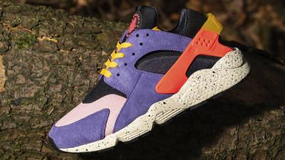 size x Nike Air Huarache ACG Purple Orange Side 2