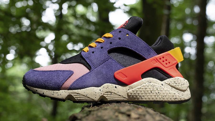 size x Nike Air Huarache ACG Purple Orange Side