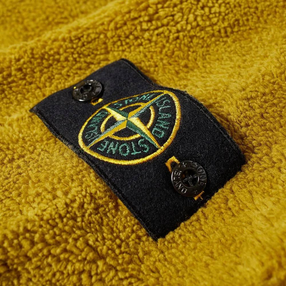 Stone Island Fleece Crew Sweatshirt 751560234-V0098 Detail