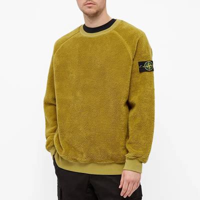 Stone Island Fleece Crew Sweatshirt 751560234-V0098 Front