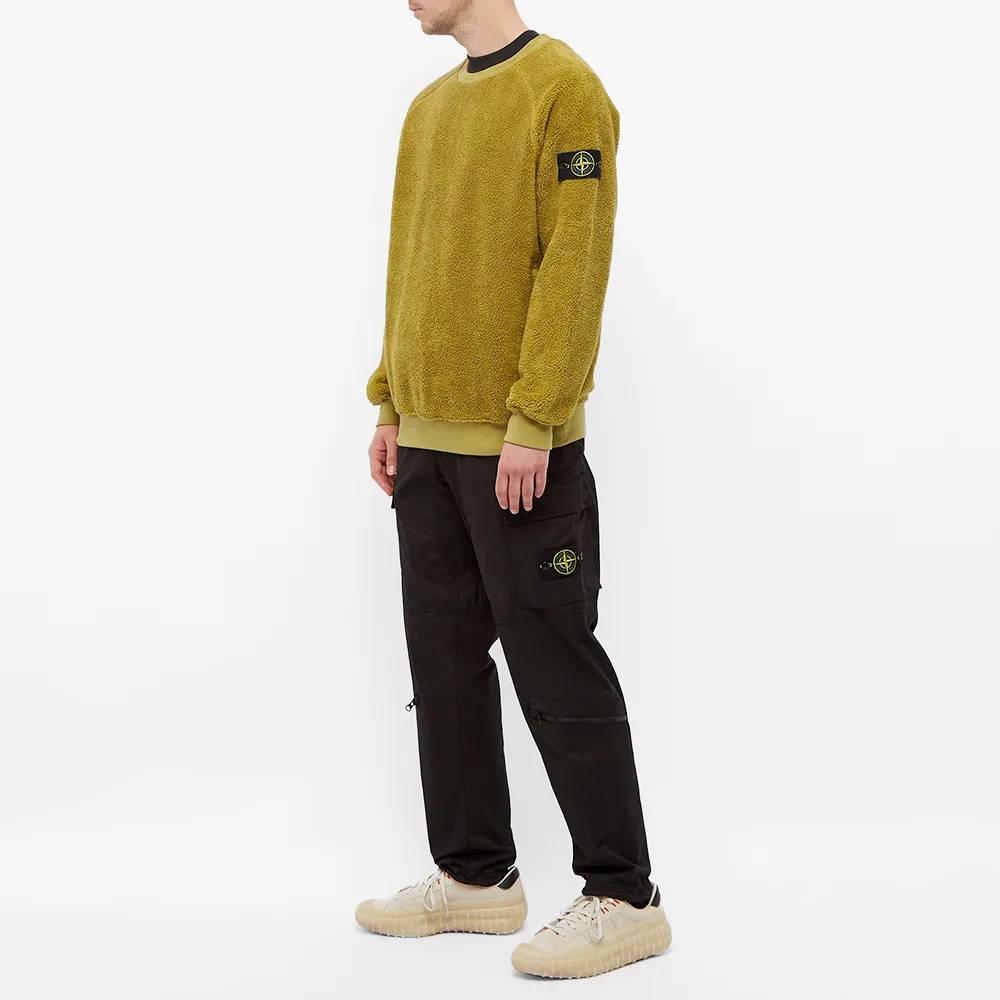 Stone Island Fleece Crew Sweatshirt 751560234-V0098 Full