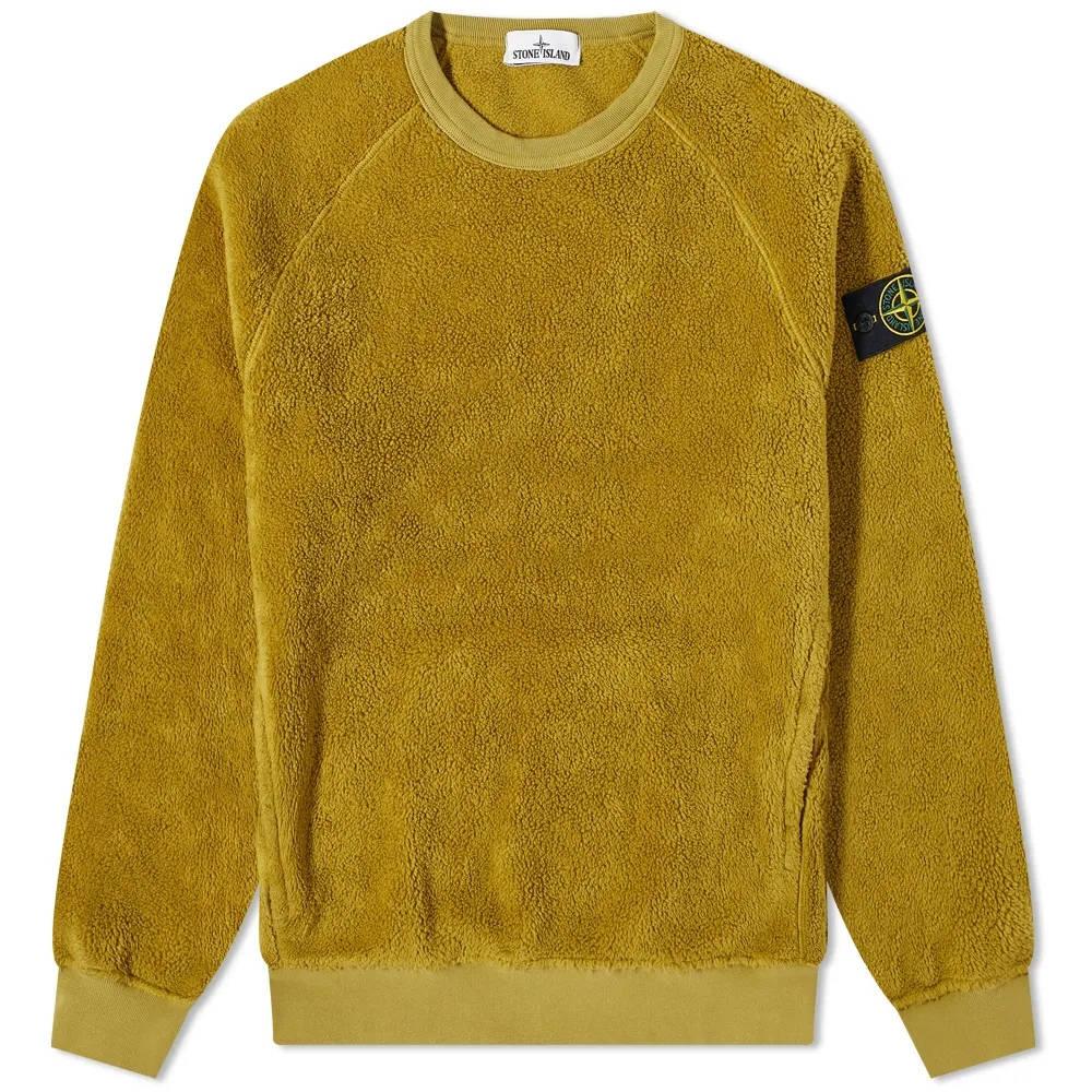 Stone Island Fleece Crew Sweatshirt 751560234-V0098