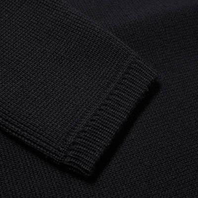 Stone Island Ghost Crew Knit Sweatshirt Navy Detail