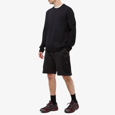 Stone Island Ghost Crew Knit Sweatshirt Navy Full