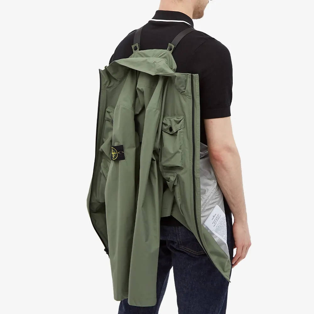 Stone Island Packable Ripstop Gore-Tex Field Jacket 751540430-V0055 Back 2