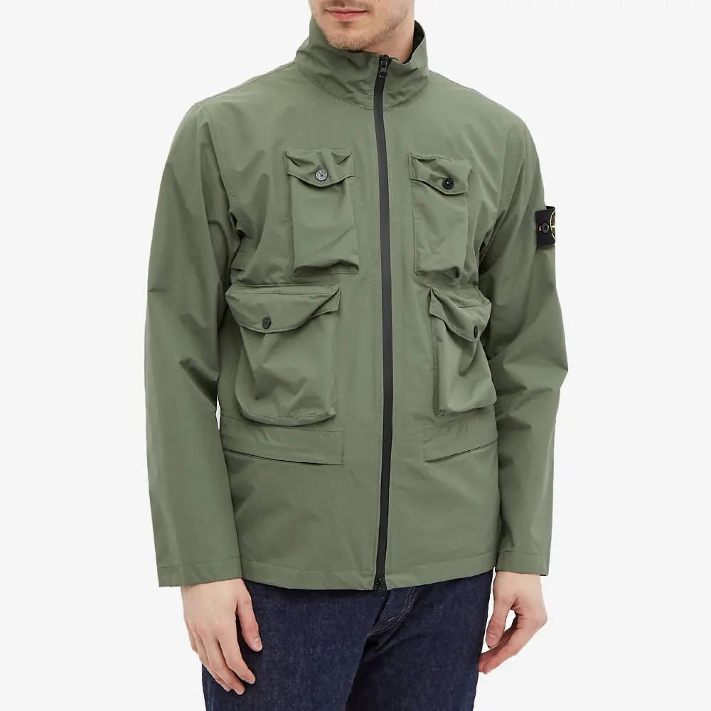 Stone Island Packable Ripstop Gore-Tex Field Jacket 751540430-V0055 Front
