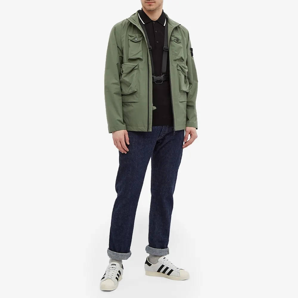 Stone Island Packable Ripstop Gore-Tex Field Jacket 751540430-V0055 Full