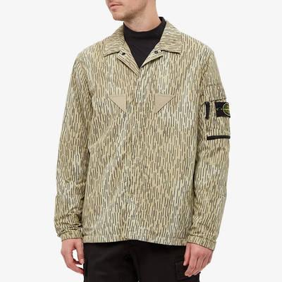 Stone Island Short Sleeve Reflective Rain Camo Shirt 7515112E2-V0091 Front