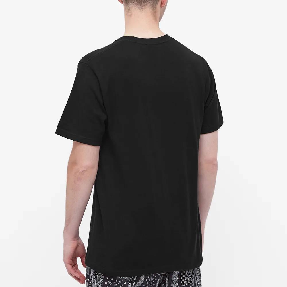 Stussy Happy Flower T-Shirt Black Back