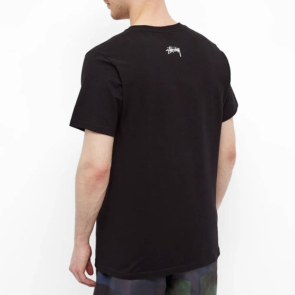 Stussy Serotonin T-Shirt Black Back