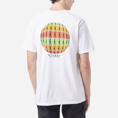 Stussy Stratosphere T-Shirt White Back