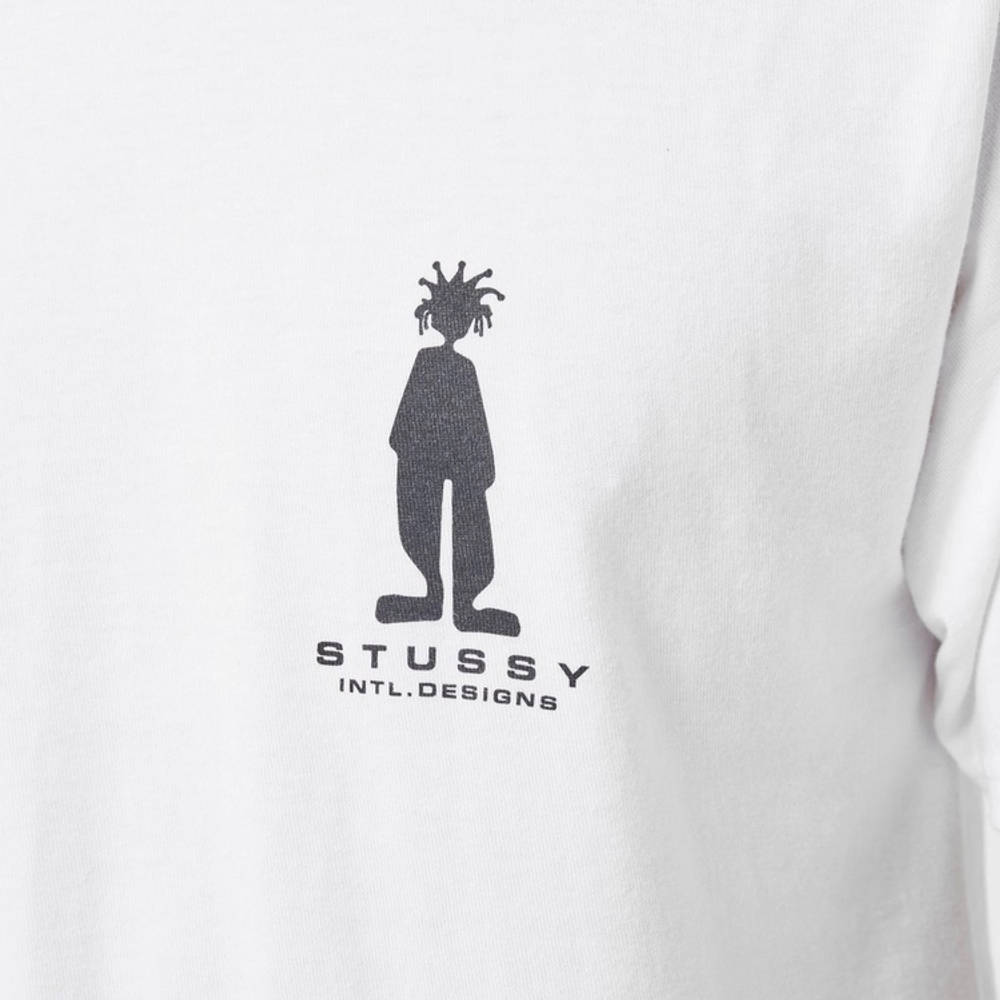 Stussy Stratosphere T-Shirt White Detail 2