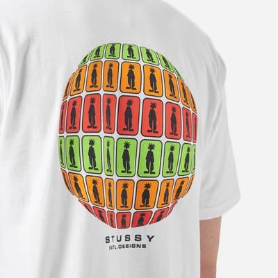 Stussy Stratosphere T-Shirt White Detail