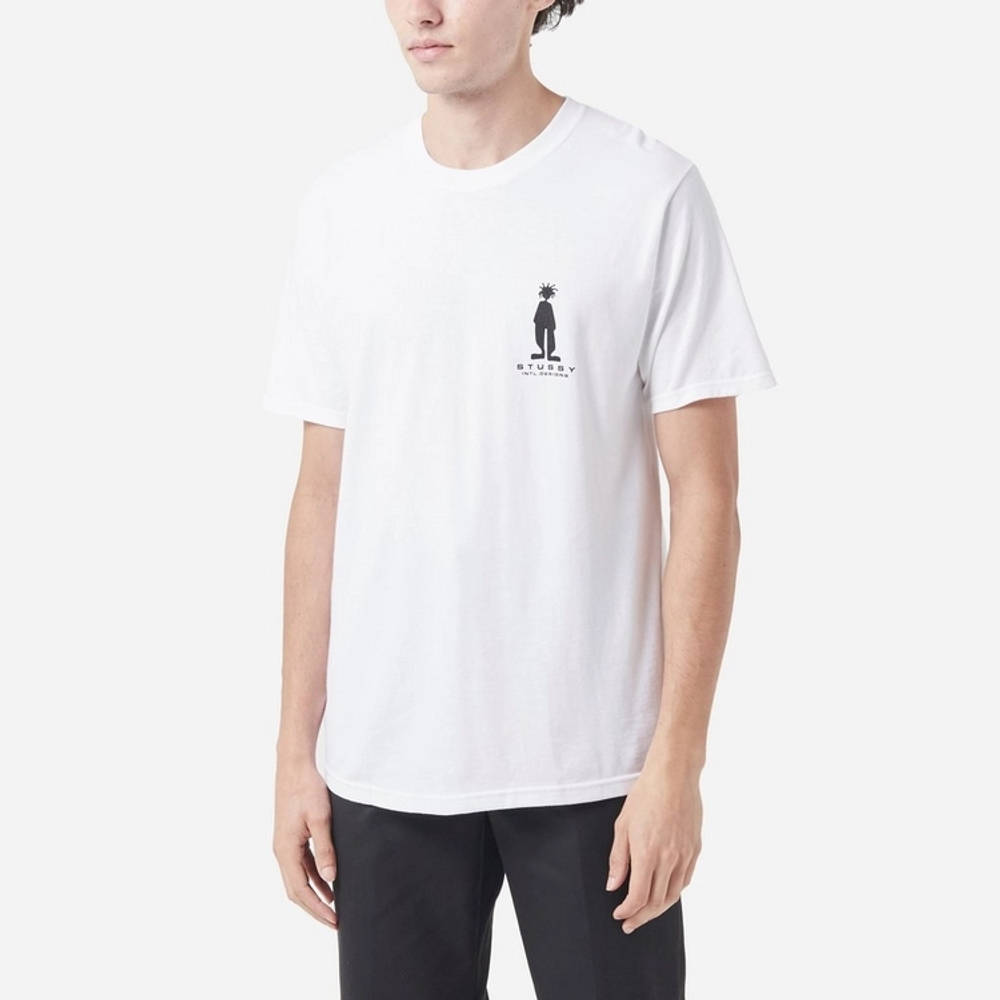 Stussy Stratosphere T-Shirt White Front