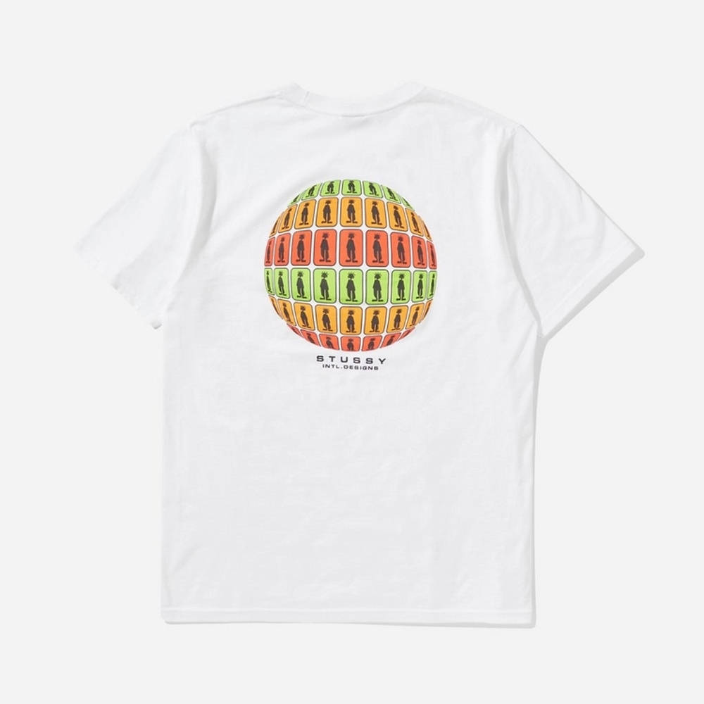 Stussy Stratosphere T-Shirt White