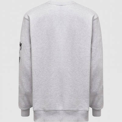 Stussy Venus Appique Sweatshirt Grey Back