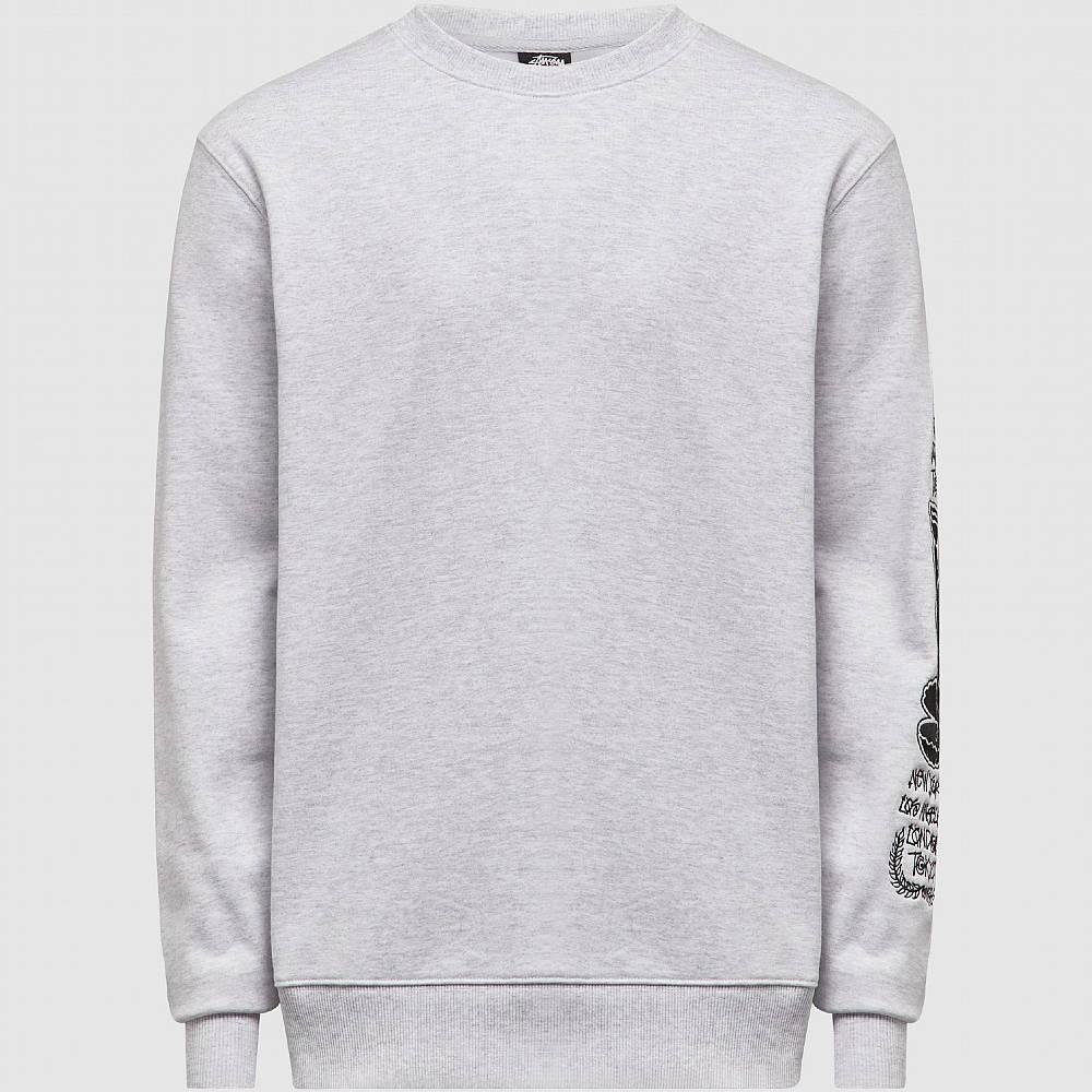 Stussy Venus Appique Sweatshirt Grey