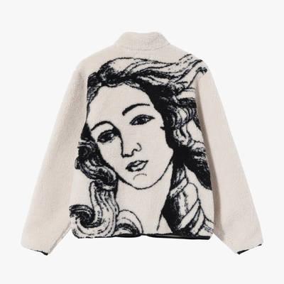 Stussy Venus Jacquard Sherpa Jacket 118437NATL Back